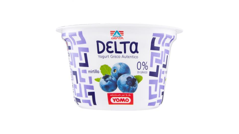 Delta Yogurt greco autentico mirtillo